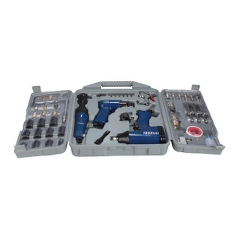 3 outils à air comprimé 50 pièces