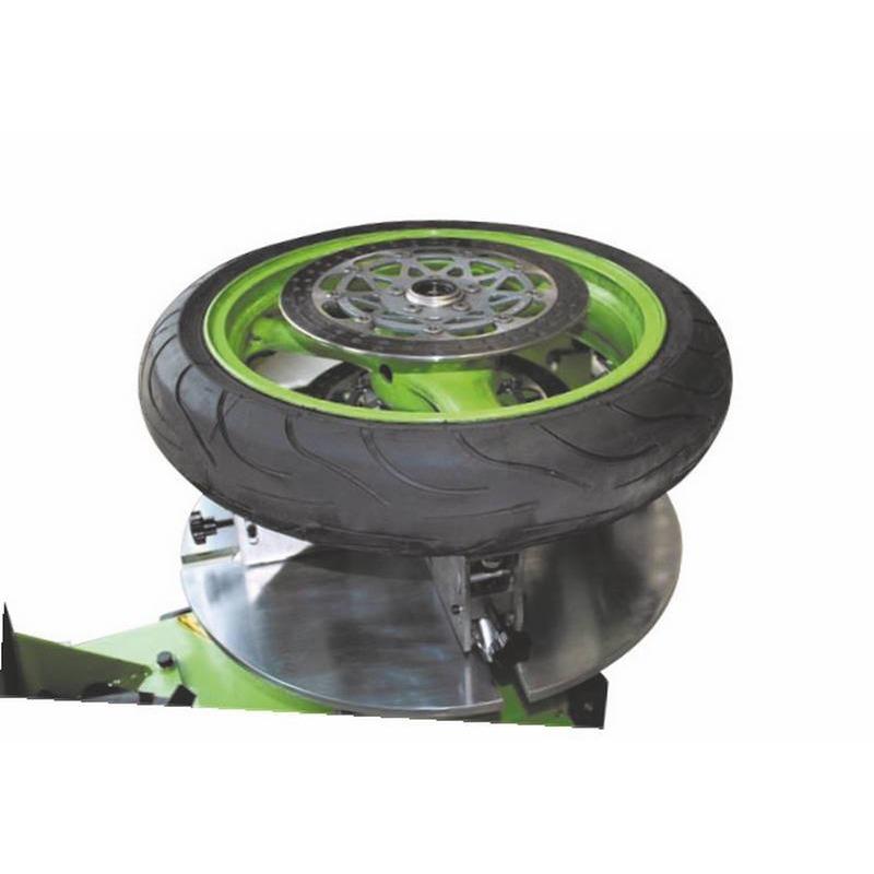 Adaptateur moto pour démonte pneus zipper