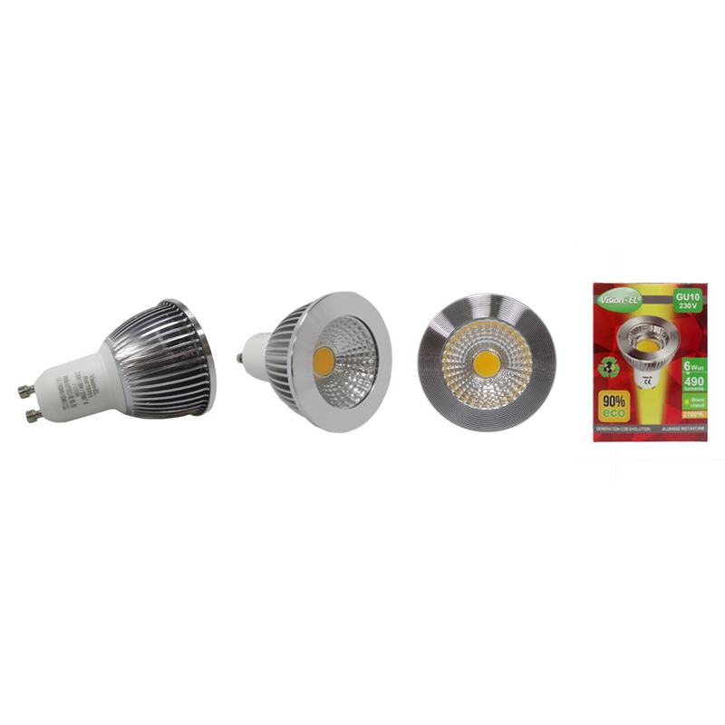 AMPOULE LED GU10 6W
