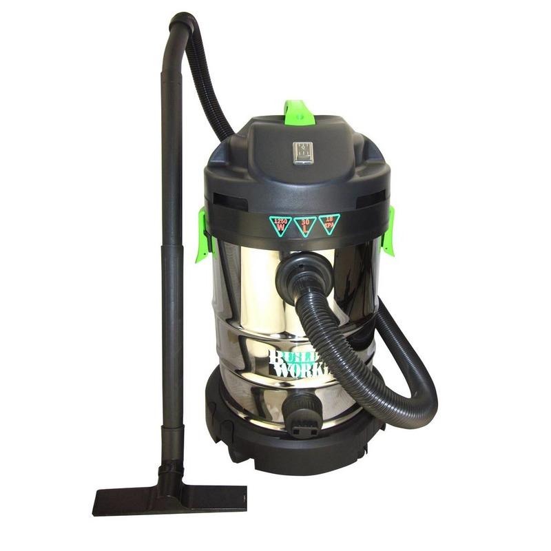 Aspirateur eau et poussiéres 1250 w 30 litres