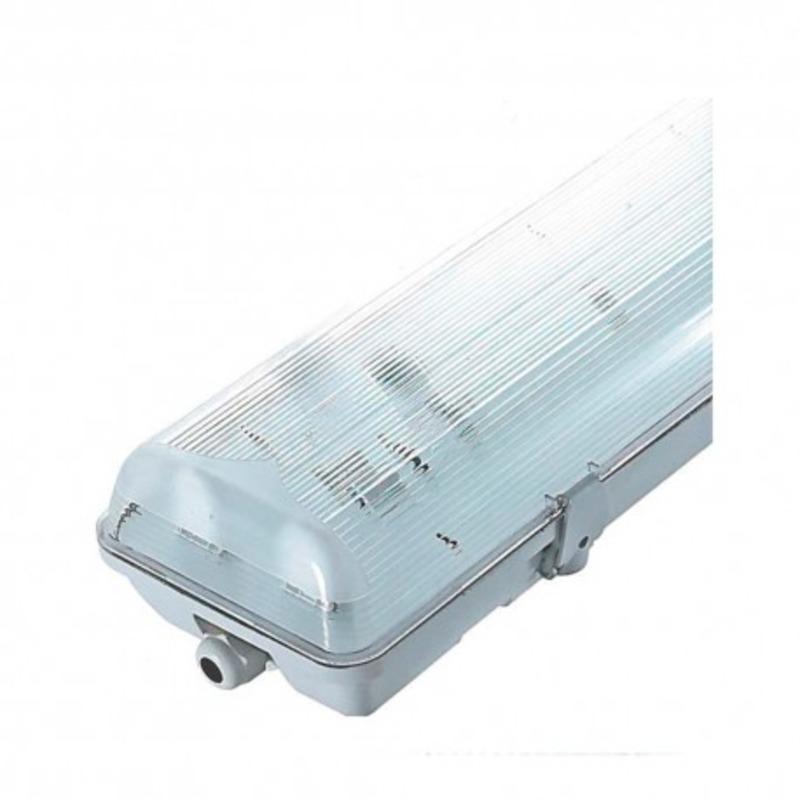 Boitier Etanche LED sans ballast pour 2 Tube T8 de 1500 mm