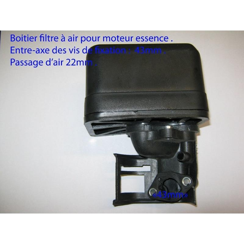 Boitier filtre à air pour moteur 6.5cv