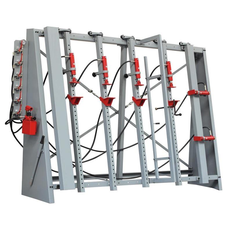 Cadreuse hydraulique manuelle 6 vérins