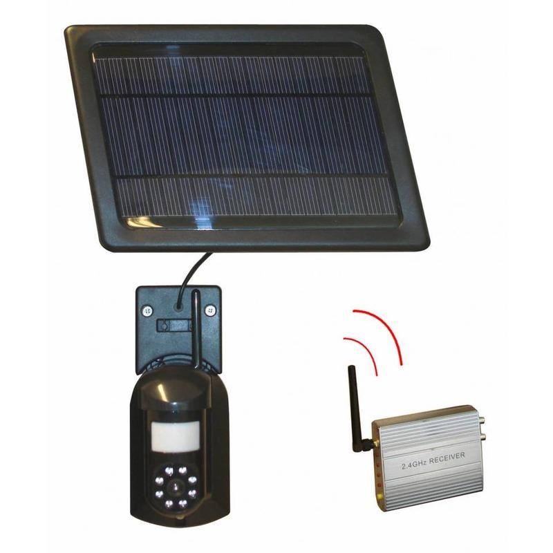 Caméra de surveillance sans fil solaire