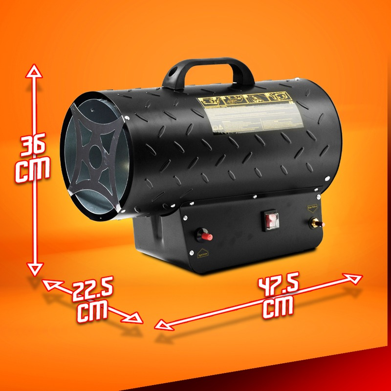 Canon a chaleur au gaz 30 KW