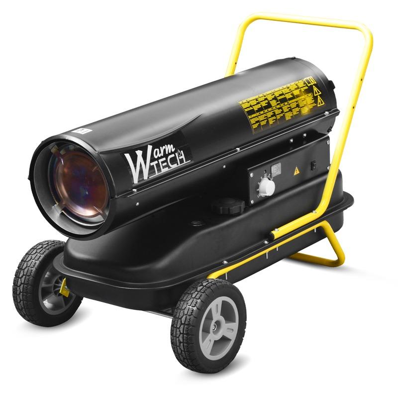 Canon a chaleur diesel 30KW