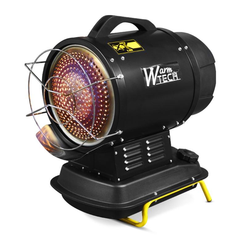 Canon à chaleur infrarouge diesel 20Kw