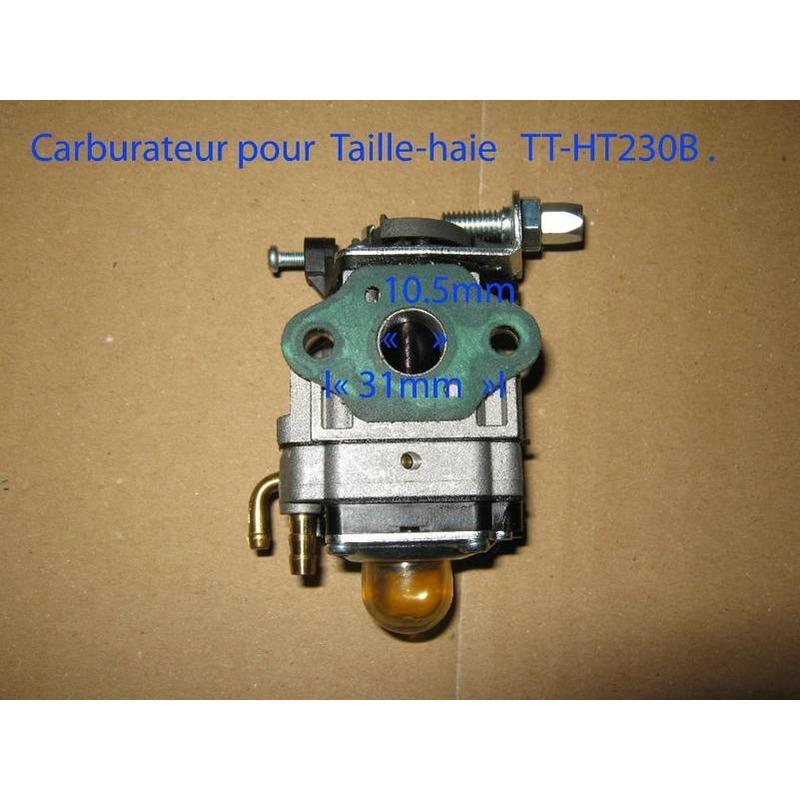 Carburateur pour Taille-haie 25,5 cc3