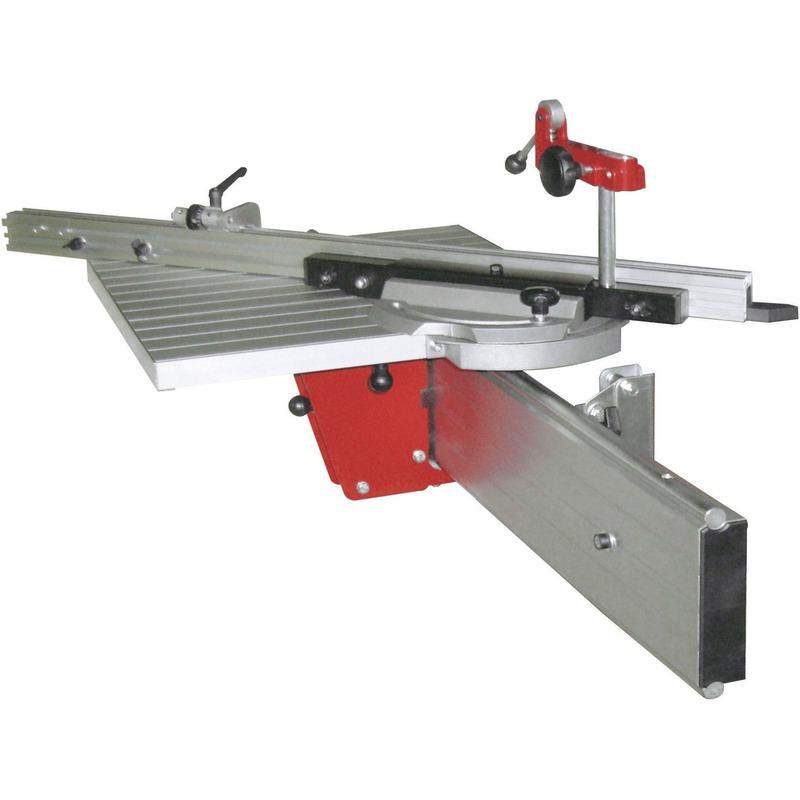 Chariot + table de chariotage aluminium pour toupie FS200/FS200S