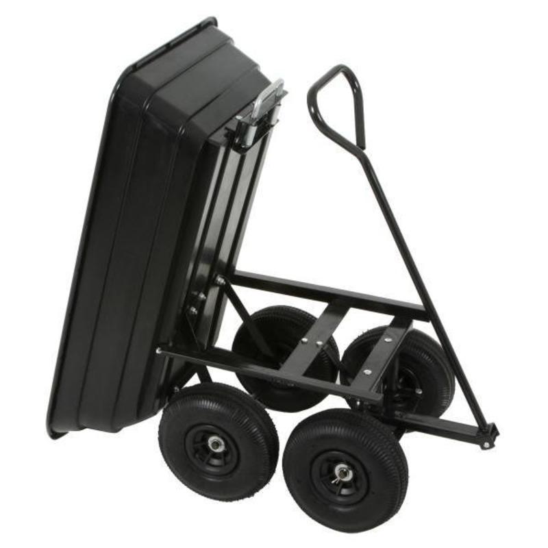 Chariot de jardin benne basculante for Chariot de jardin 2 roues