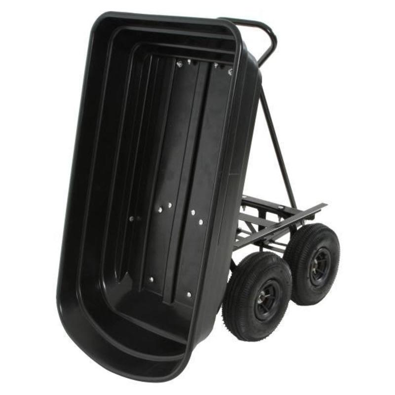 Chariot de Jardin à Benne Basculante 250 kg