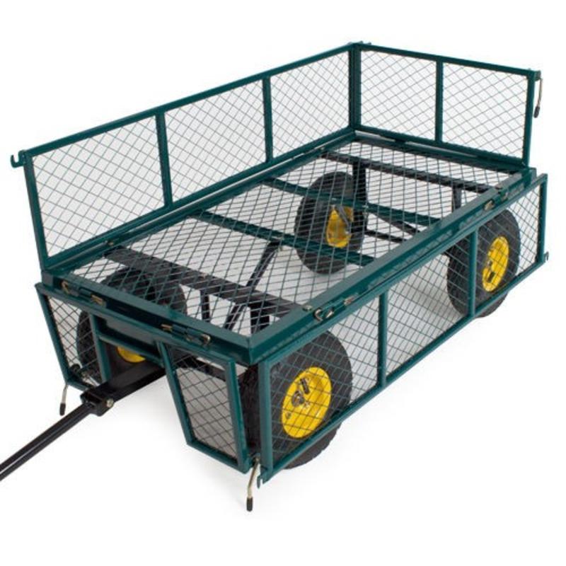 Chariot de jardin avec bâche Max 350Kg