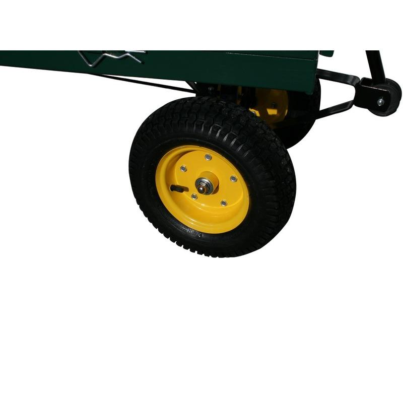 Chariot de jardin remorque Max 600Kg