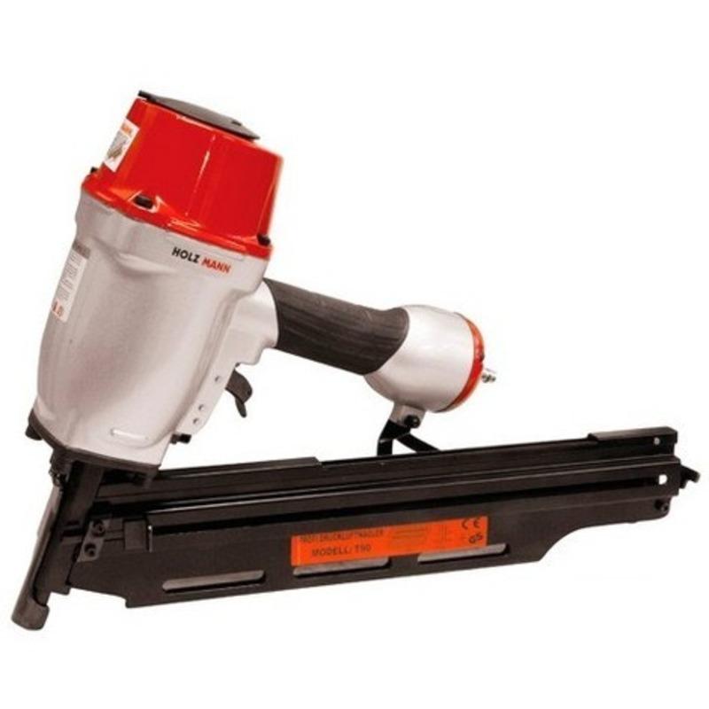 Cloueuse PRO pneumatique type RN 21° de 50 à 90 mm T90