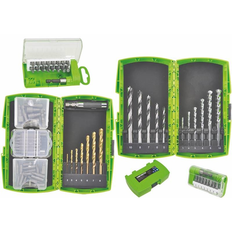 Coffret percage vissage 74 pieces
