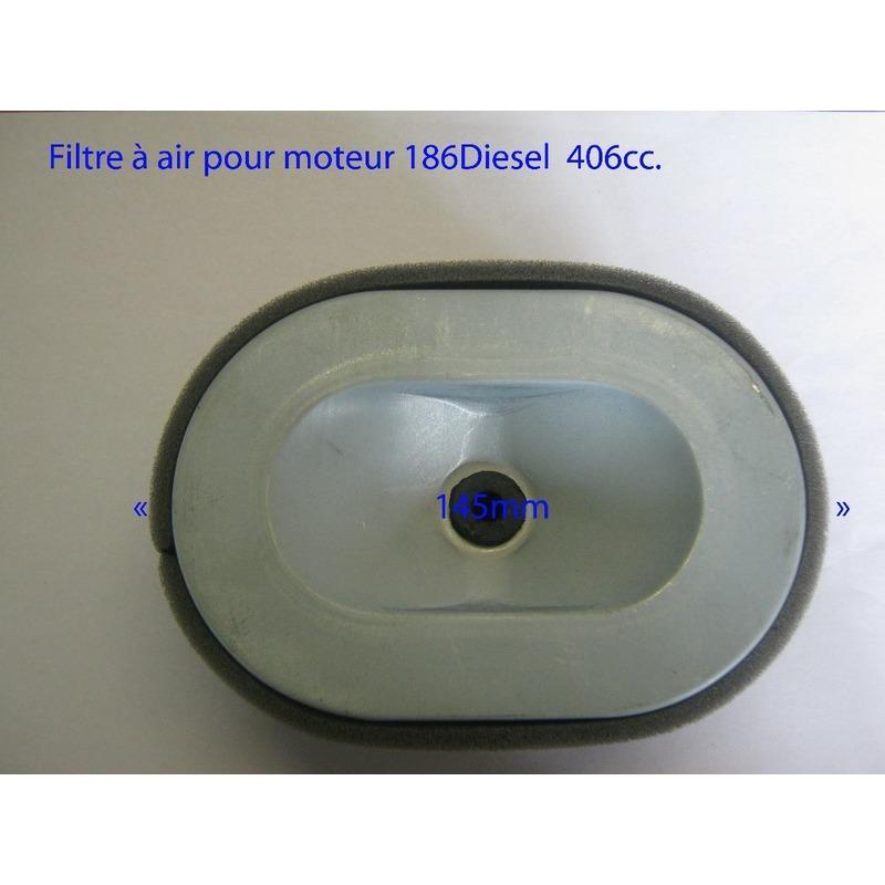 Filtre à air pour moteur 186 Diesel 406cc
