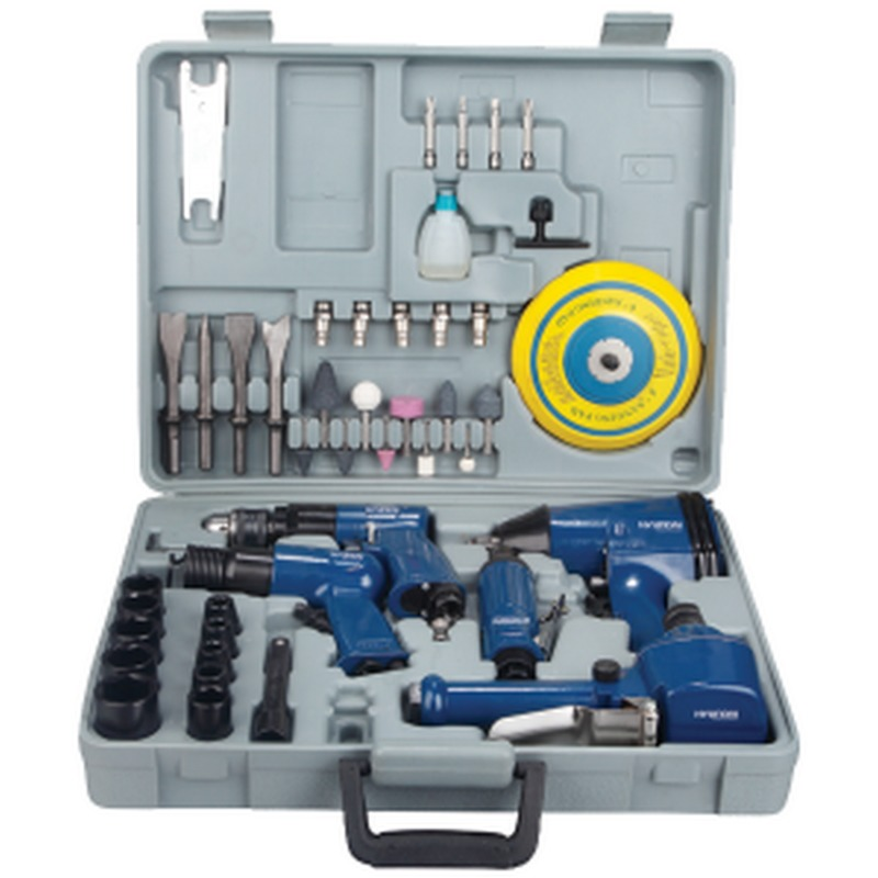 KIT 48 OUTILS A AIR COMPRIME