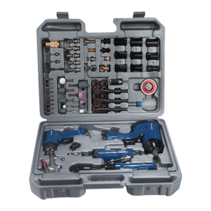 Kit outils à air comprimé 71 pièces
