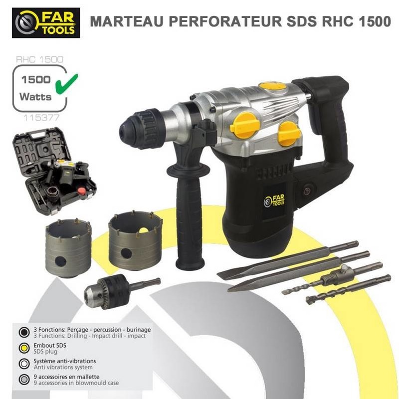 Marteau Perforateur RHC 1500 w