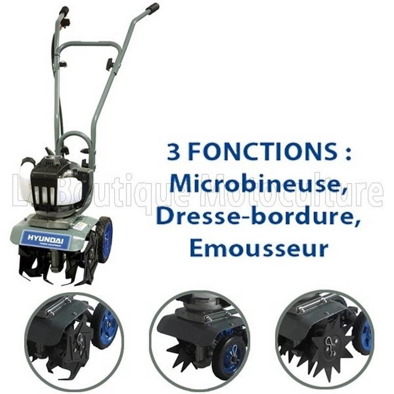 Microbineuse thermique 3 fonctions