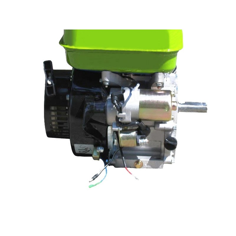Moteur essence 4,8kW 6,5 CV 196cc Démarrage Electrique