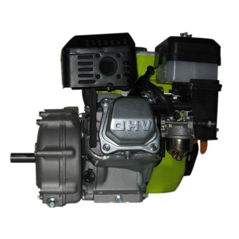 Moteur essence 6,5 CV 4,8 Kw avec embrayage à bain d'huile réducteur 1/2 arbr clavette de 19.96mm