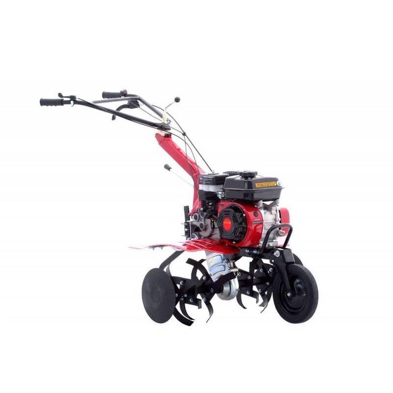Motoculteur 6.5 cv charrue simple et fraises
