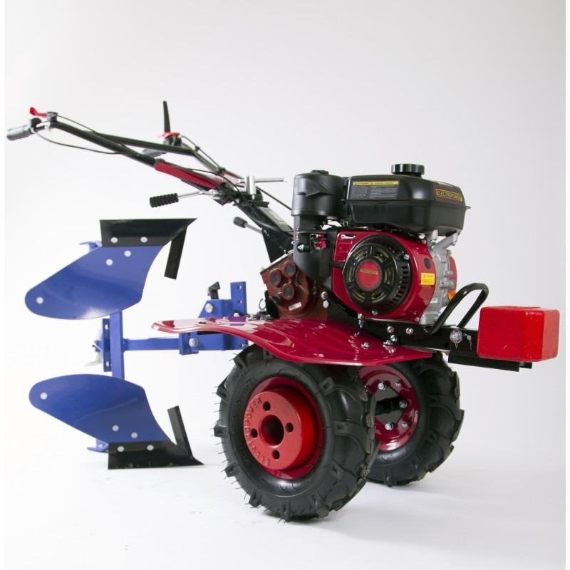Motoculteur mep900 6 5 cv avec charrue for Fraise pour motoculteur staub