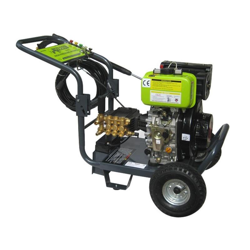 Nettoyeur Haute Pression Diesel 205 bars demarrage éléctrique