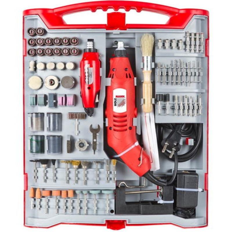 Outil multifonction 221 accessoires inclus dans coffret 160W