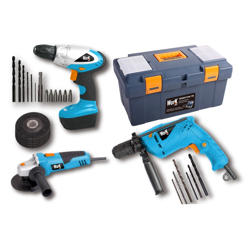 Pack 3 MACHINES  BOITE A OUTILS ACC