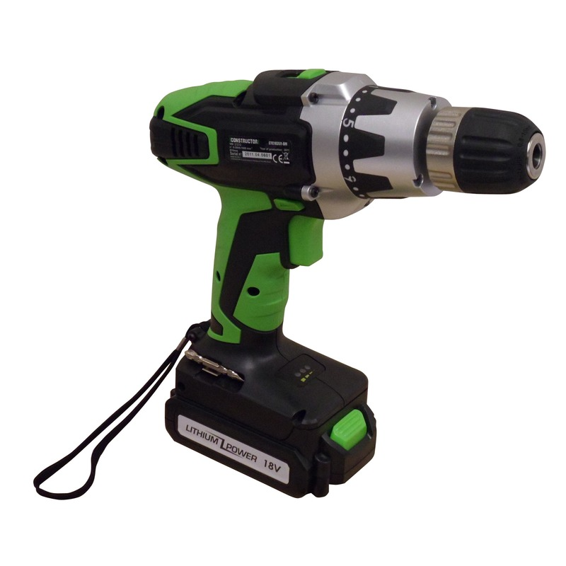 Perceuse visseuse 18v lithium