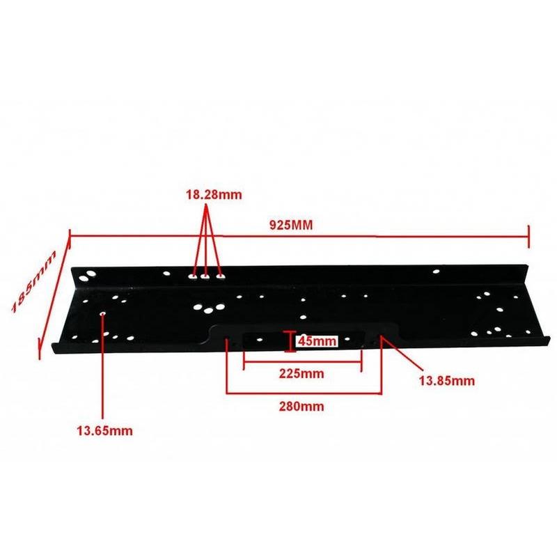 Plaque de fixation universelle pour treuil de 2300KG à 5900Kg