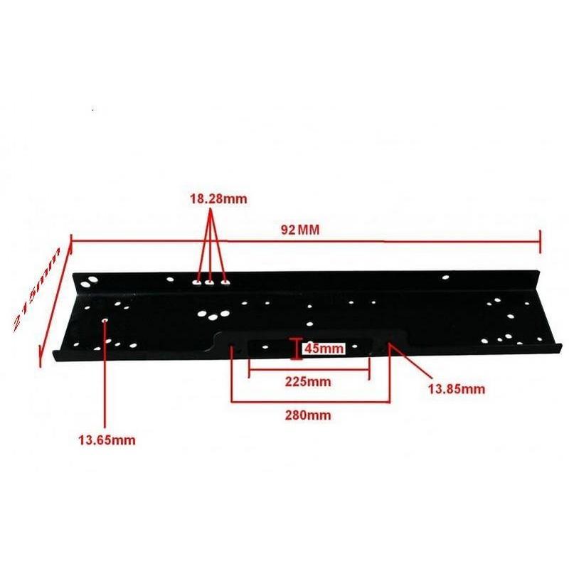 Plaque de fixation universelle pour treuil de 6800KG à 7620Kg