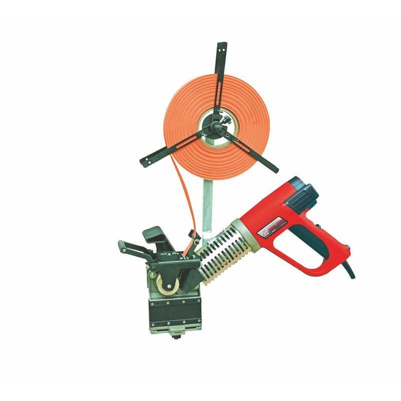 Plaqueuse de chant pré-encollé manuelle 540°C 230 V  2000 W