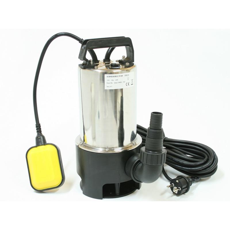 Pompe à eau immergée eaux sales 1100w
