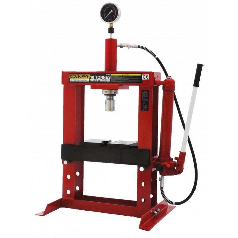 Presse d'atelier hydraulique 10 Tonnes