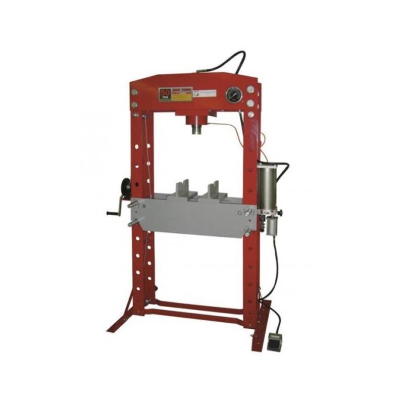 Presse d'atelier pneumatique 50 tonnes