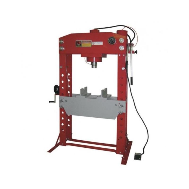 Presse d'atelier pneumatique 75 tonnes