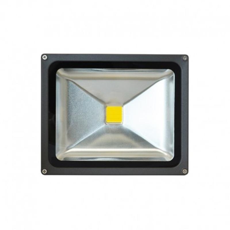 Projecteur Exterieur LED Gris 30W 3000°K