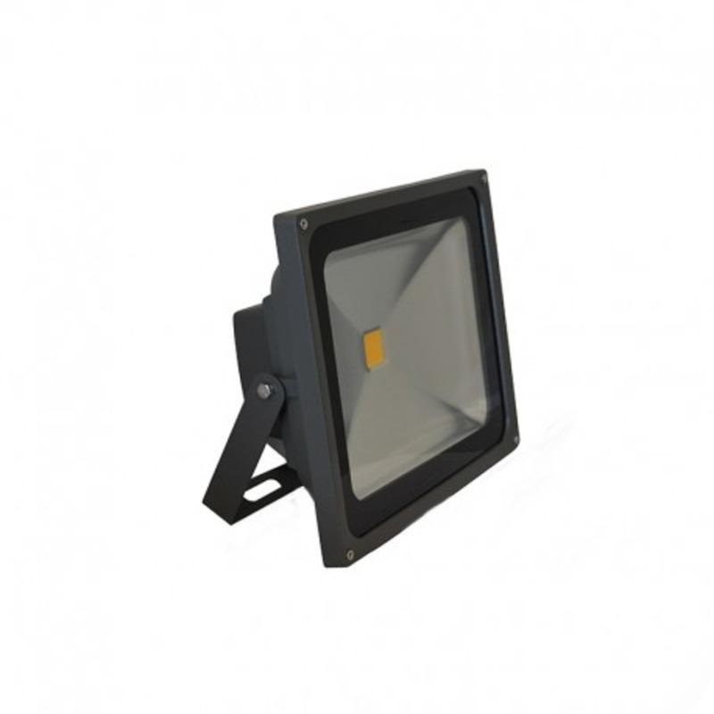 Projecteur Exterieur LED Gris 50W 3000°K