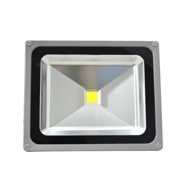 Projecteur Exterieur LED Gris 50W 6000°K
