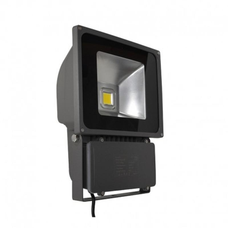 Projecteur Exterieur LED Gris 70W 4000°K