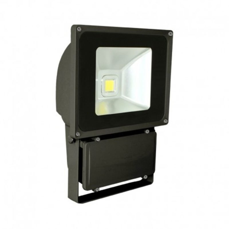 Projecteur Exterieur LED Gris 80W 6000°K