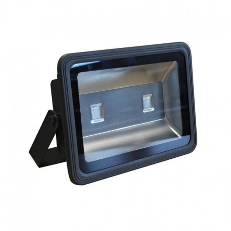 Projecteur Exterieur LED Gris 80W RGB + Télécommande