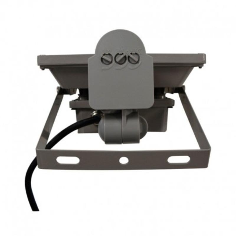Projecteur Exterieur LED Gris Détecteur 20W 6000°K