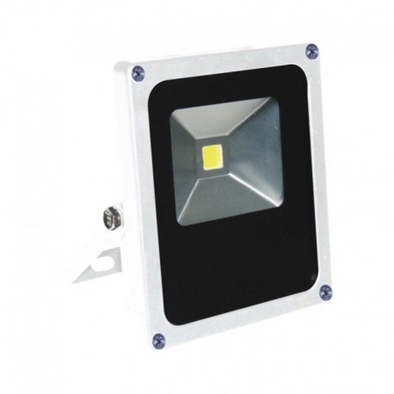 Projecteur Exterieur LED Plat Blanc 10W 6000°K