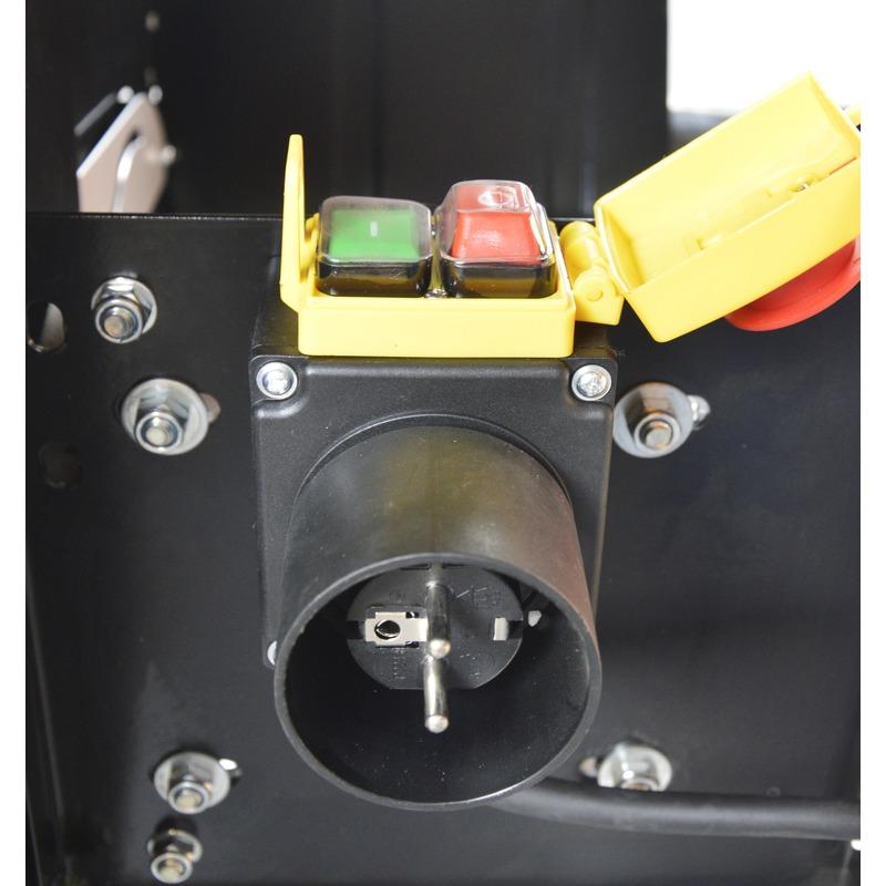 Scie à buches électrique 2200 W avec 2 lames