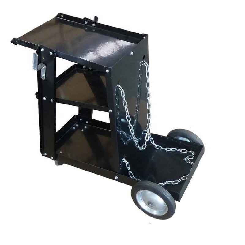 Servante, chariot pour poste à souder à 3 étages