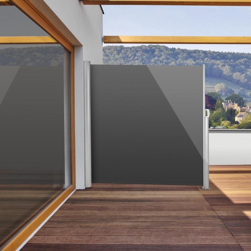Store latéral gris anthracite 300 x 160cm